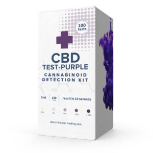 CBD oil test kit 100 drops